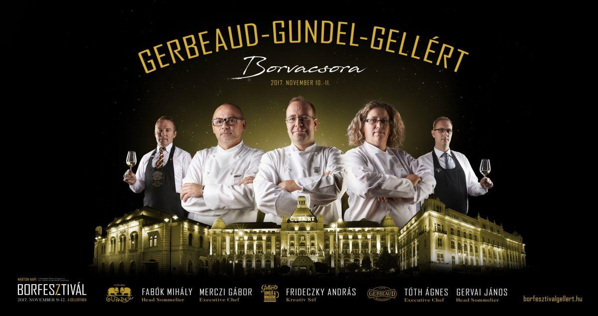 Gerbeaud-Gundel-Gellért - Márton napi borfesztivál