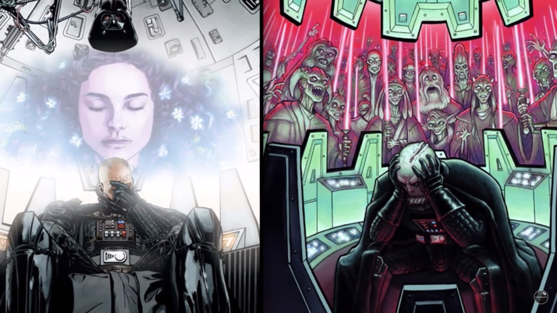 Darth Vader a Star Wars legendás sith harcosa sokat meditált.