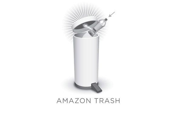 Az Amazon Trash megvesz helyetted, amit kidobtál.