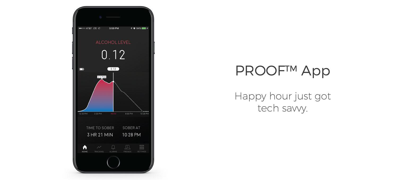 A Proof grafikonon vezeti állapotunk a buli közben.