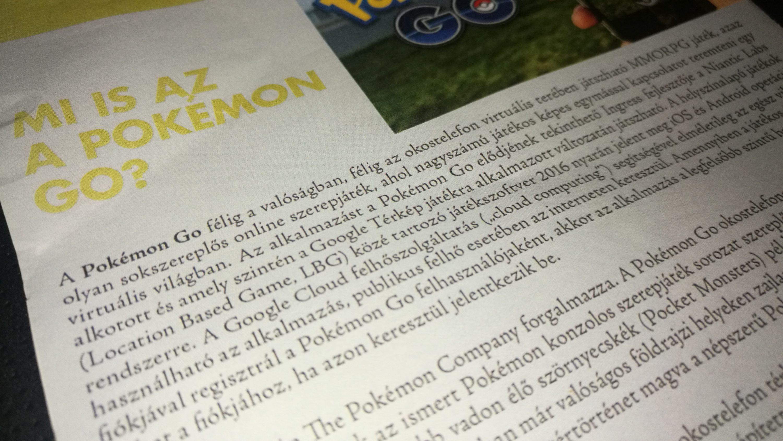 A Pokemon Go hatásvadász címe mögött van egy jó sztori, de a cím mindent elvon.