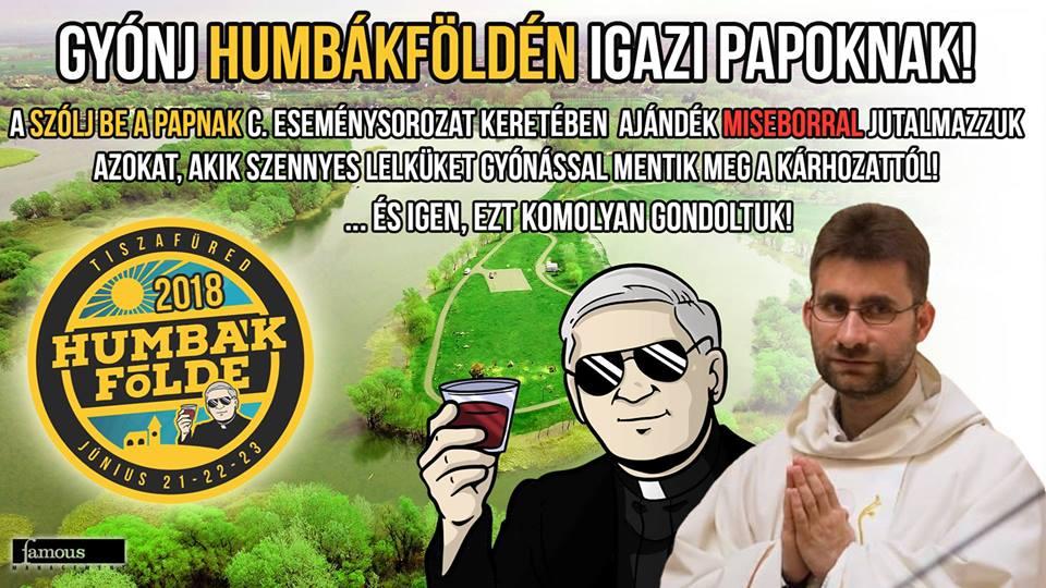 Papok Humbákföldén!