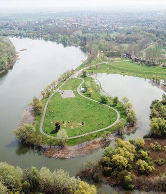 Tiszafüred, Morotva kerékpáros pihenőhely