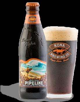 A hawaii Kona sörfőzde a trópusi sziget aromáit vegyíti italaiban. Egyik különlegességük a Pipeline Porter nevű sör, melyet a szigeten termesztett kávébabokból készült kávéval pezsdítenek fel.