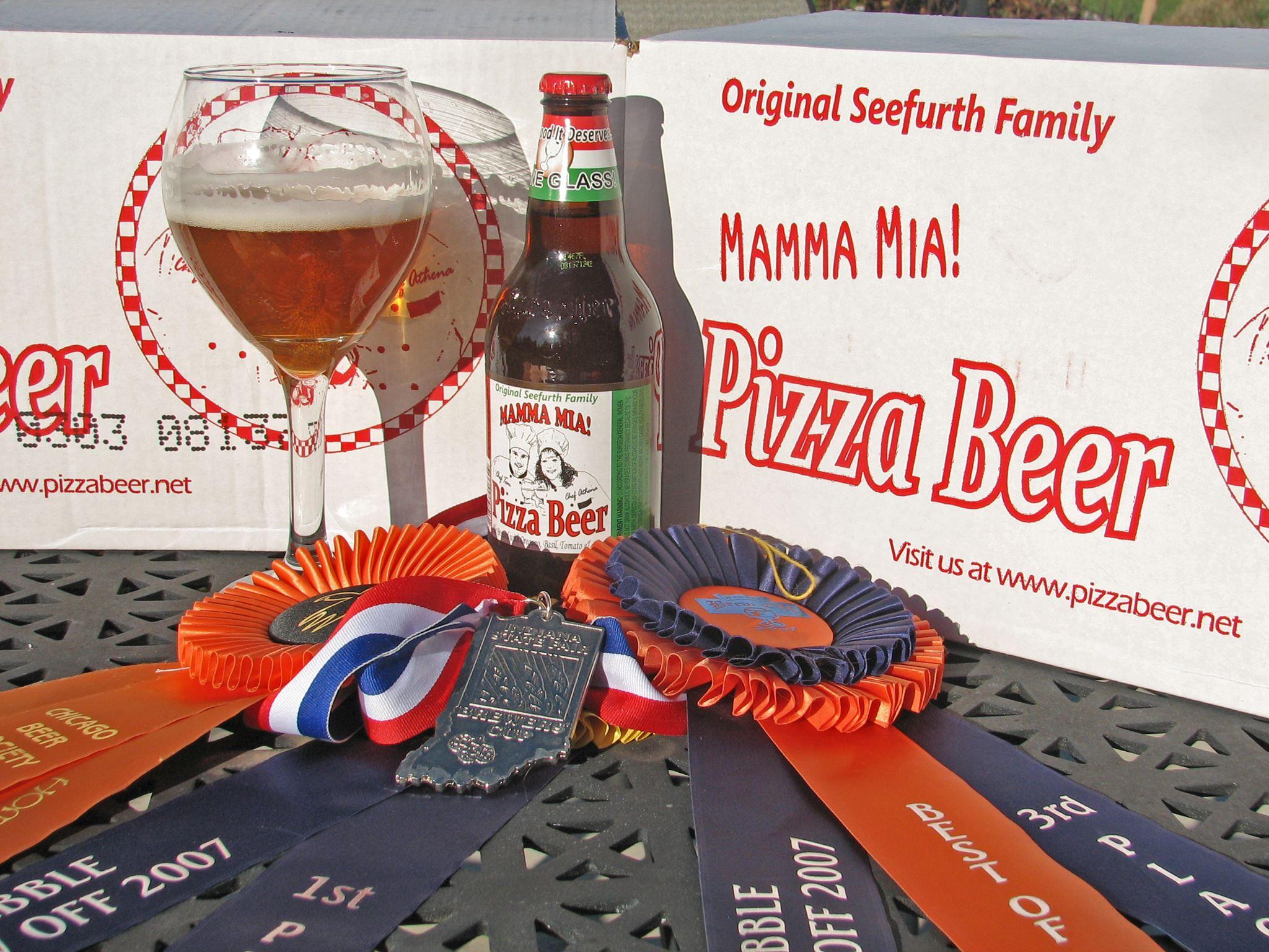A pizza sör 2006-ban született, amikor a konyhakertben szüretelt fűszernövények és zöldségek megihlették egy házi sörfőzde tulajdonosait.