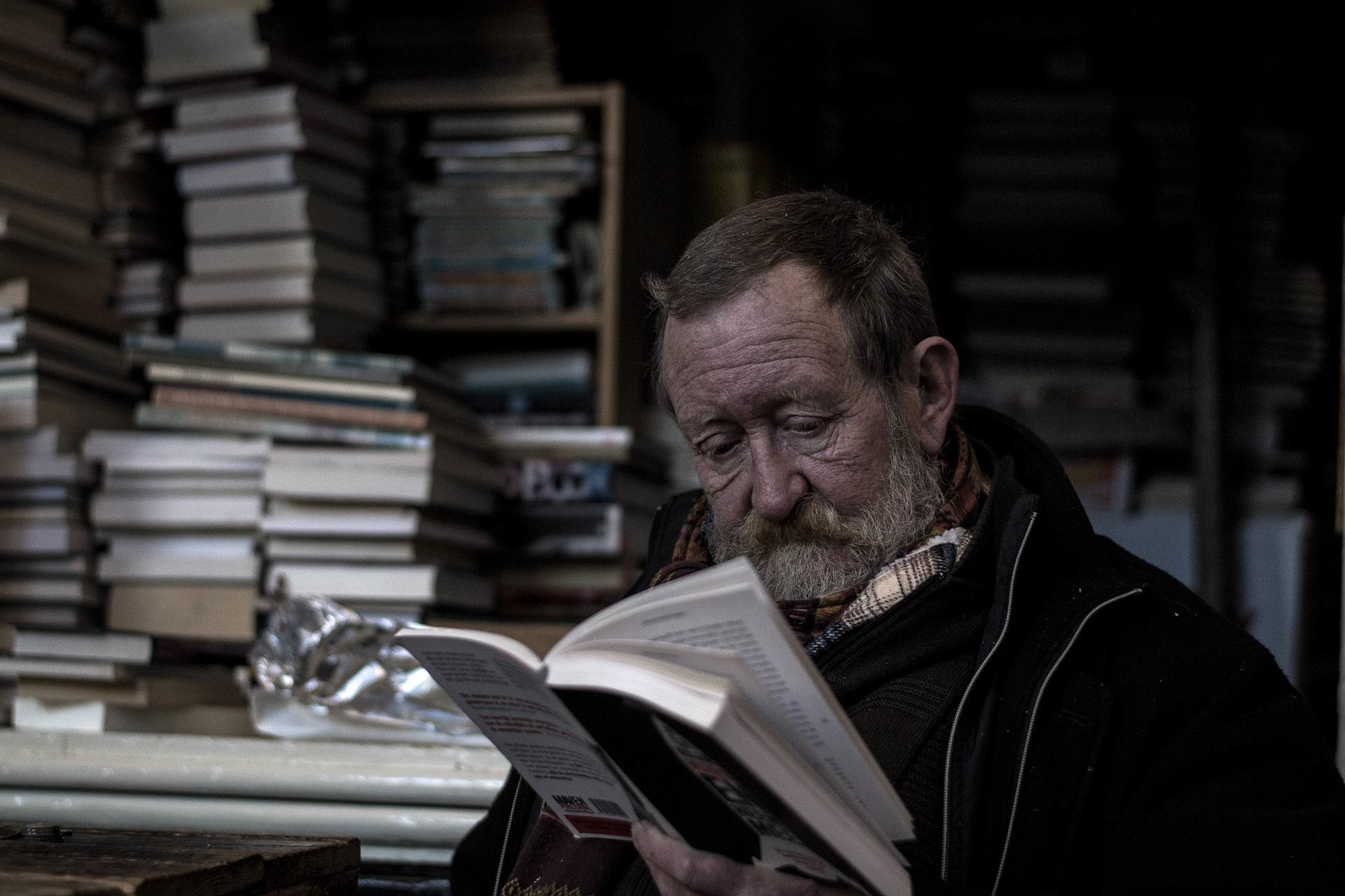 Az olvasás segít megőrizni a szellemi frissességed.