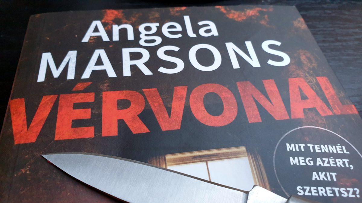 A Vérvonal Angela Marsons tollából minden fejezetben tartogat valamit az olvasónak.